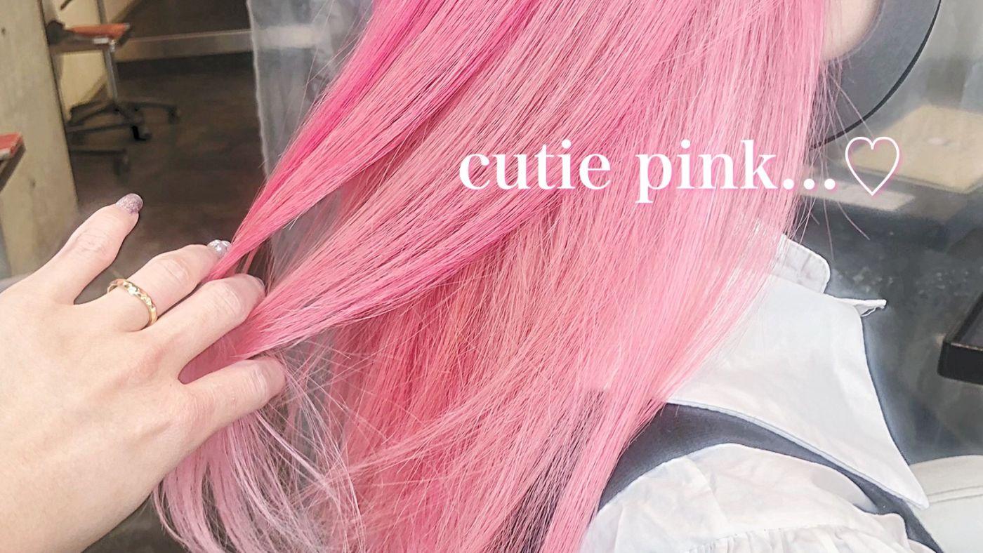6.cutie pink
