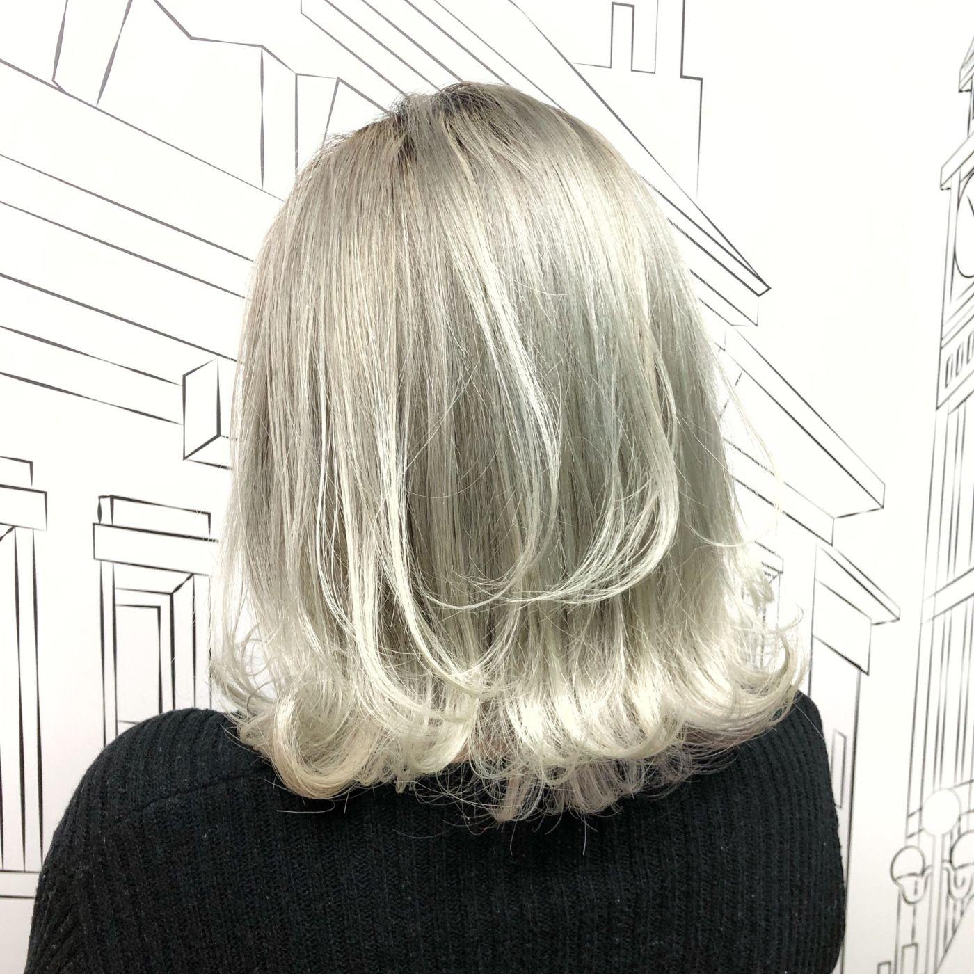ブリーチ3回以上:憧れの外国人風「ホワイトヘア」