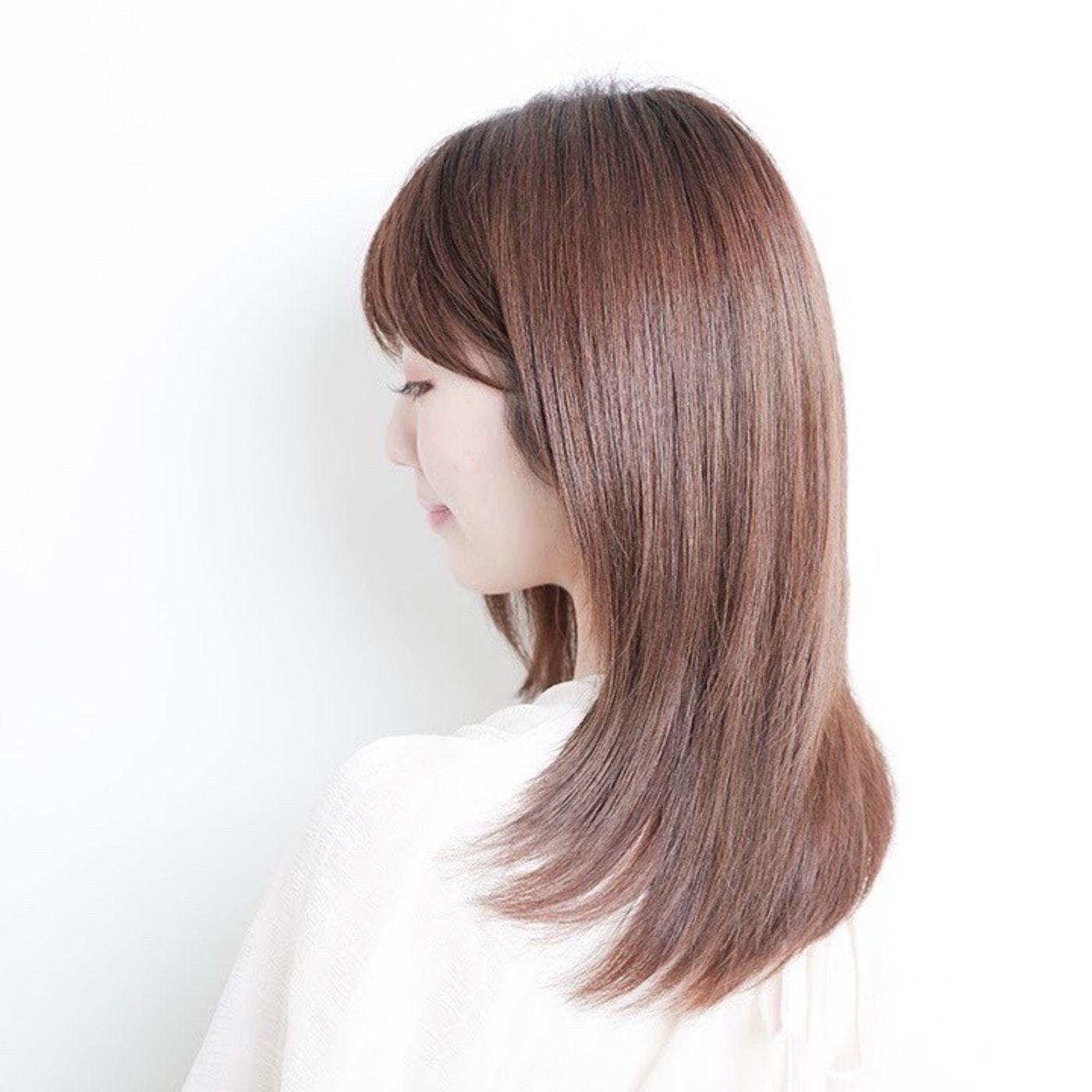 【広がりが気になる方】髪質改善チューニングでボリュームダウン