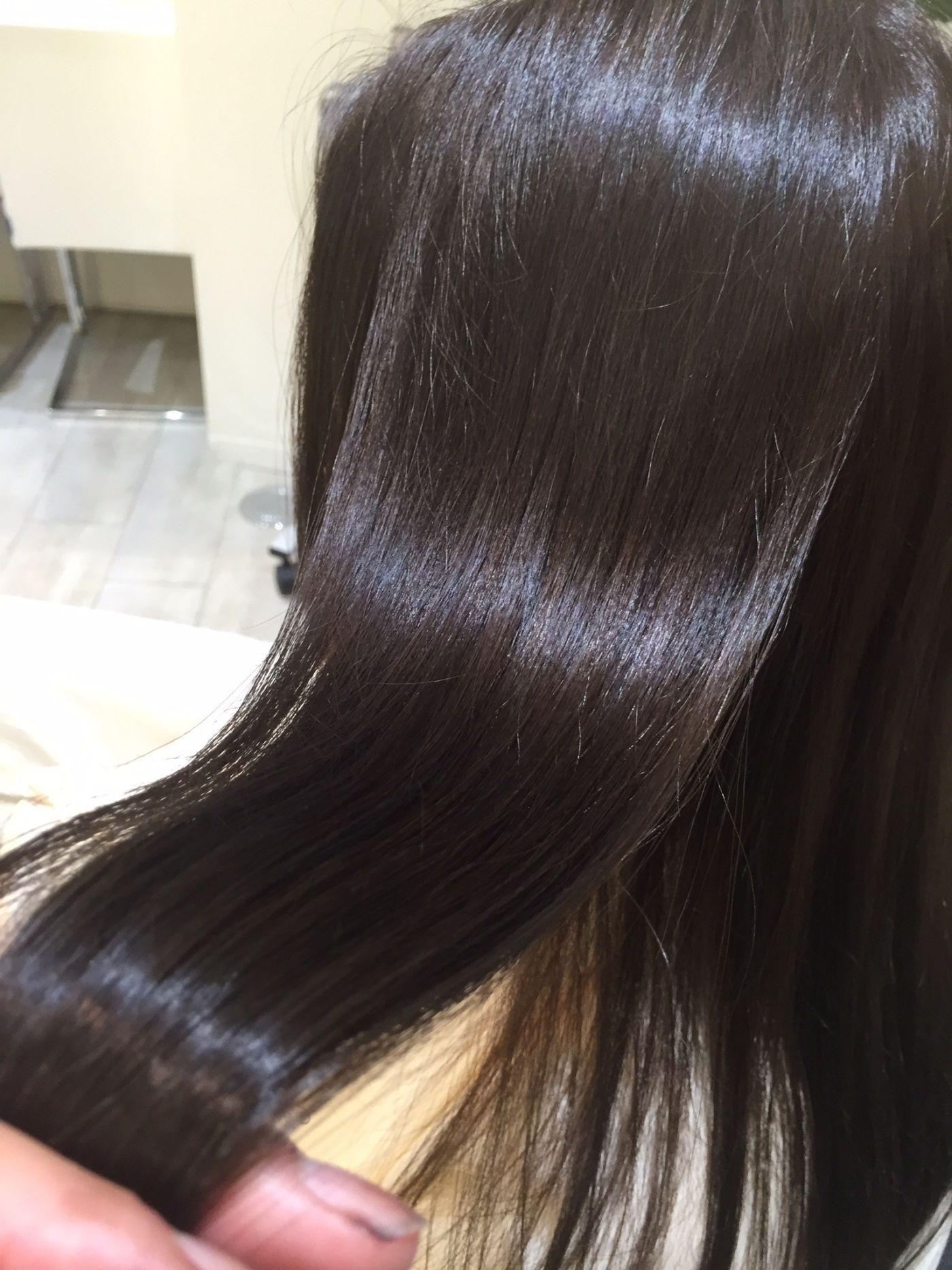 ④健康な髪の毛は、健康な頭皮から