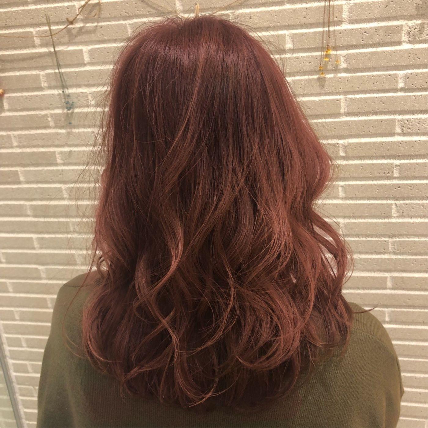 秋冬の定番♡ ピンクブラウン