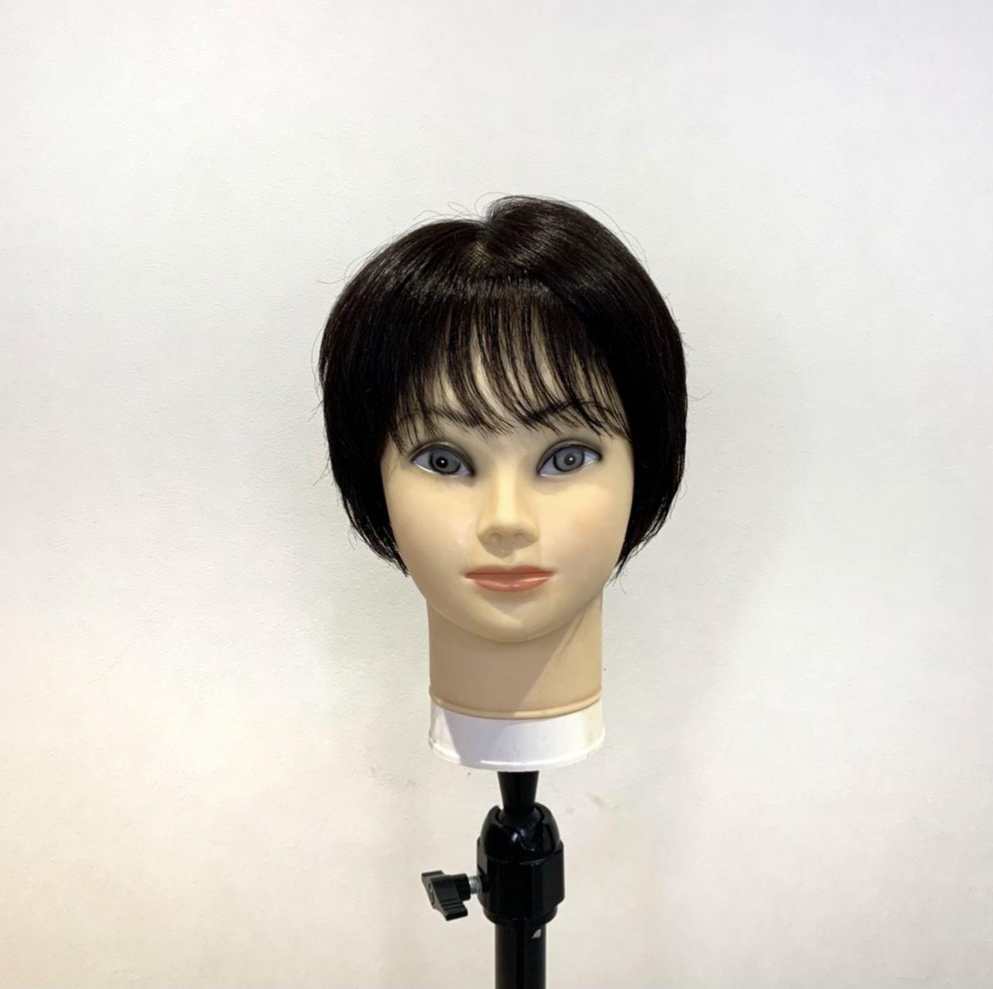 【2】薄めの前髪にしてシースルーバング風に