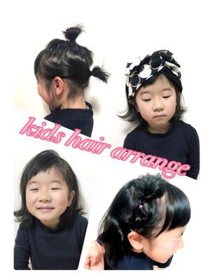 ぶきっちょママさんでも大丈夫!1つは出来そうkidsアレンジヘア