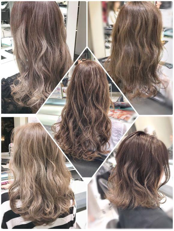 夏におすすめ!ブリーチ×イルミナカラーで髪色をデザイン✨