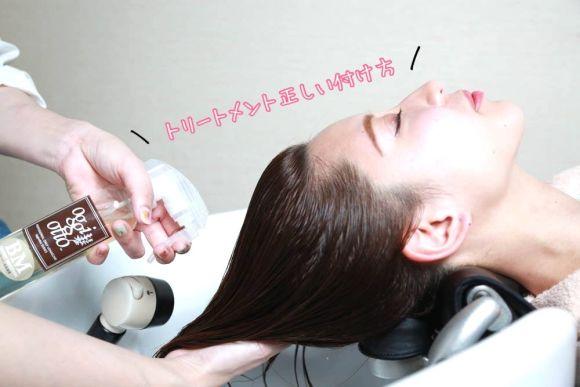 髪の毛のパサつき、ダメージが気になる方必見!トリートメントの効果的な正しいつけ方教ます!