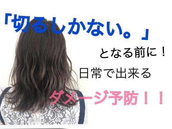 【髪が傷む原因】髪が傷む前に自宅で出来ること【ダメージ】