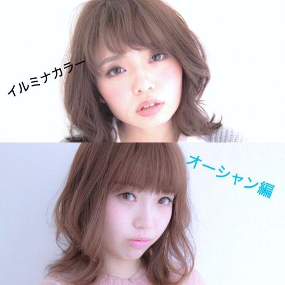 リピート率95%「艶髪、透明感」イルミナカラー 色味別徹底分析 (オーシャン編)