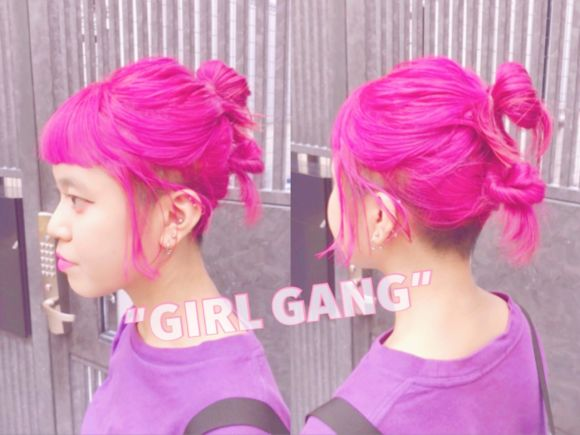 この夏の派手髪&派手カラーを使いこなす最新 it GIRLS♡