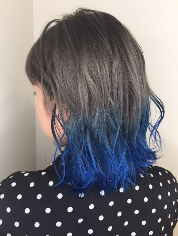 この夏はファイバープレックスで作るダメージレスな可愛いブルーヘアに挑戦するべき♡
