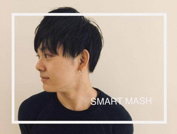 【men's hair】お洒落メンズスタイルとして定番の黒髪スマートマッシュ。女性からも人気な理由とは?
