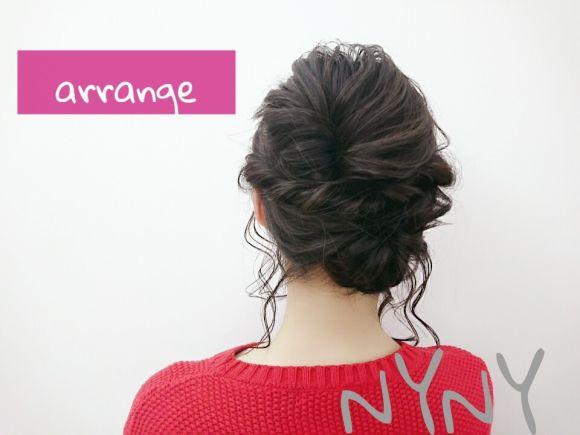 おくれ毛で作る抜け感が決め手♡こなれ【アレンジヘア】