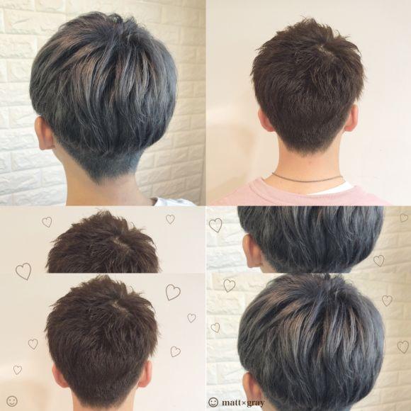 男性の印象は髪から始まる