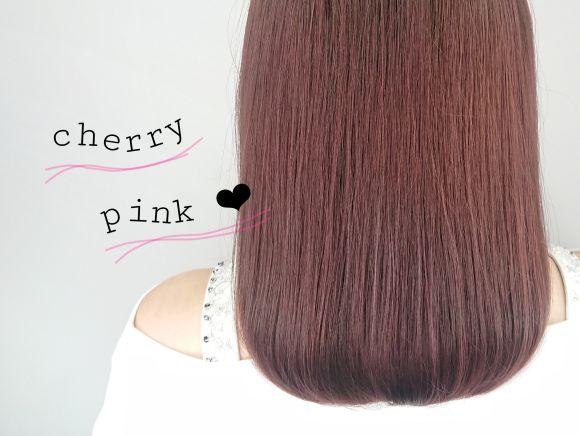 新色登場!!イルミナカラーブロッサムで大人かわいいピンク色に♡