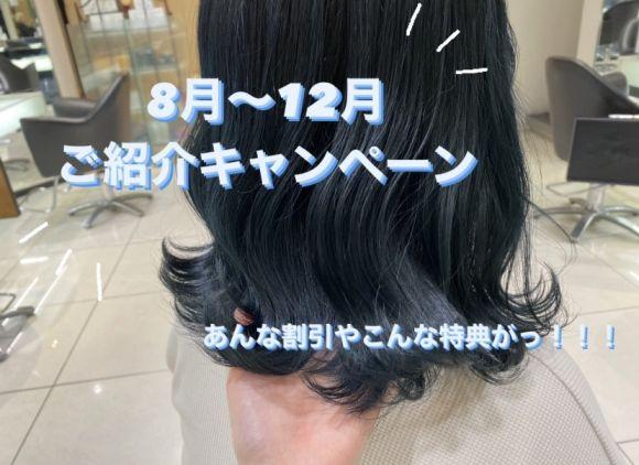 【8月から12月限定!紹介キャンペーン!!】