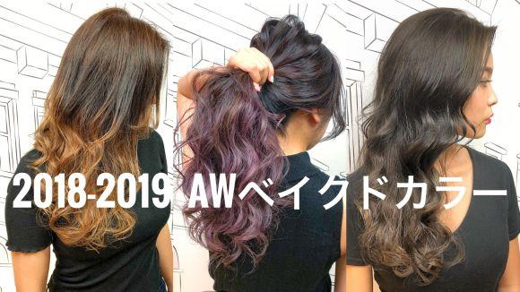 【2018-19A/W】夏終わりのダメージヘアに「ベイクドカラー」