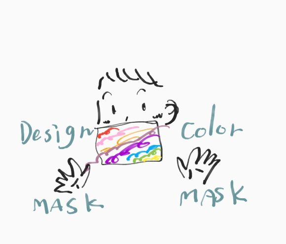 マスク生活を飽きずに生き延びる方法 その1