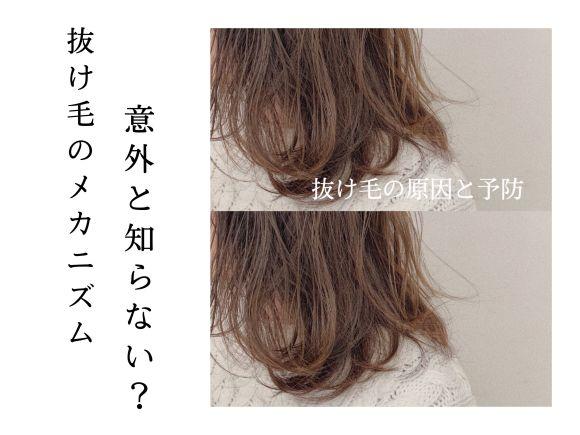 意外と知らない抜け毛の【原因】と【予防方法】