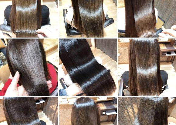 美容室で髪の毛をキレイにするには髪質改善でツヤ髪に