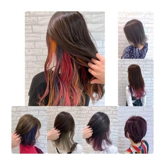 遊び心しかないカラーで髪を遊ぼう!!