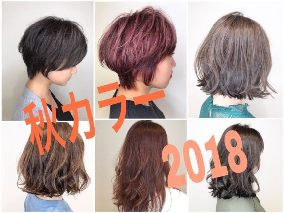 2018秋決定版!夏が終わって黄色くなった髪の毛にオススメの秋カラー♪