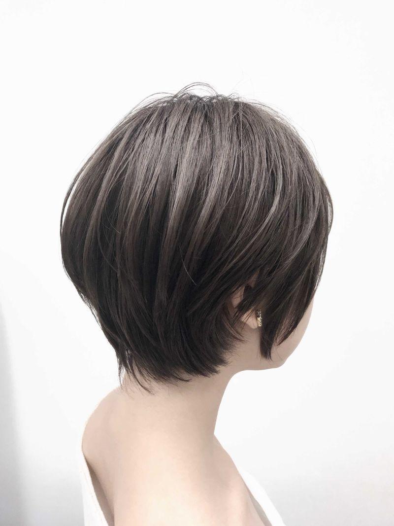 スッキリショートヘア