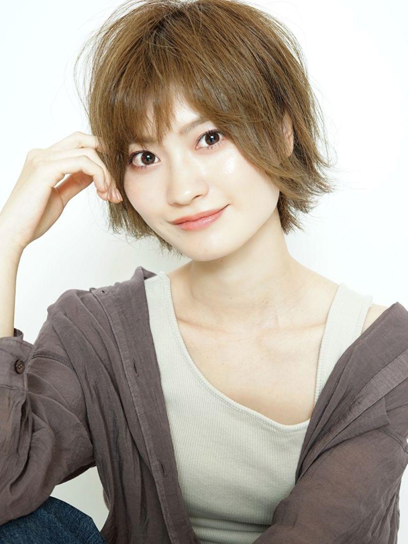 ベース顔×短め前髪