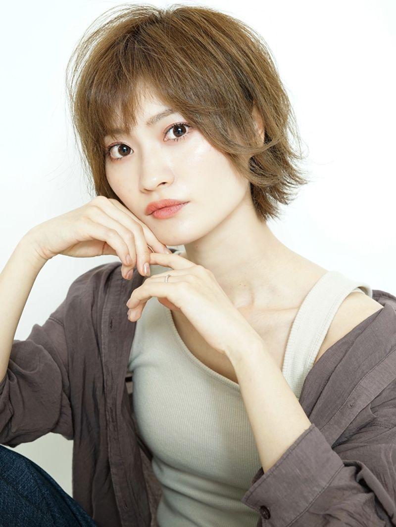 ベース顔×短め前髪②
