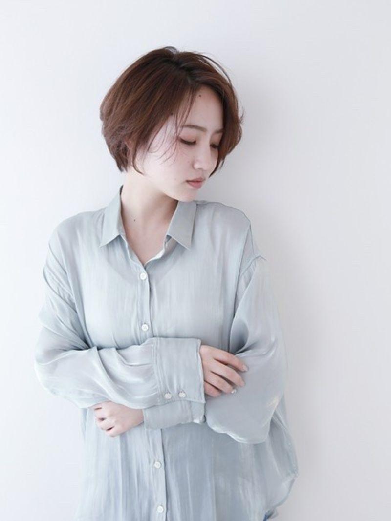 【NYNY 岩破】クールな印象◎大人ショートボブ②