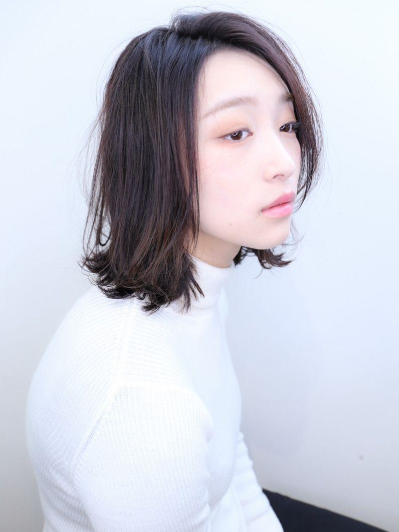 【NYNY】伸ばしかけルーズロブヘア③
