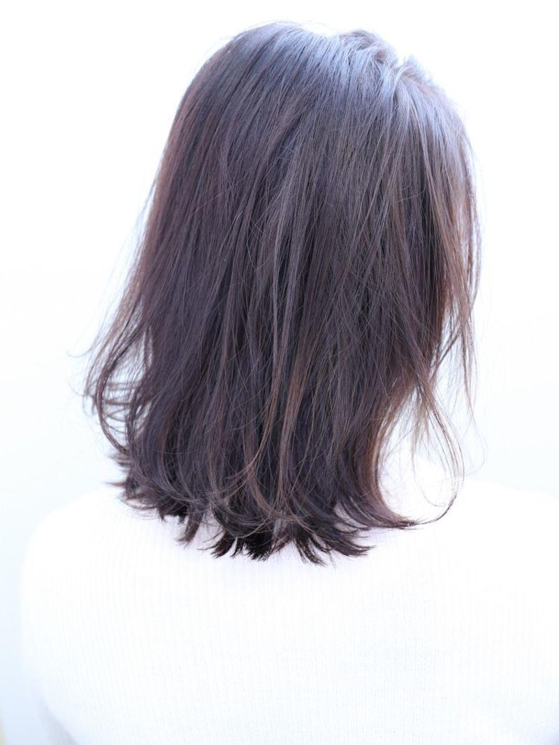 【NYNY】伸ばしかけルーズロブヘア④