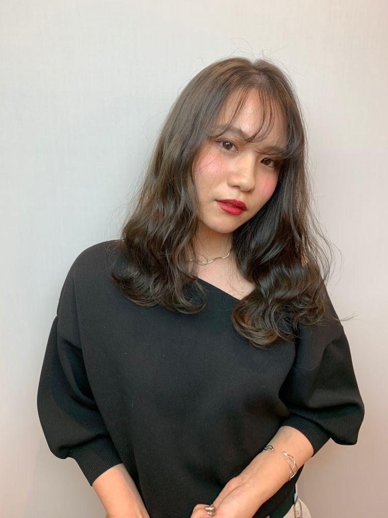 イルミナカラー新色スターダスト★ガーリーウェーブヘア④