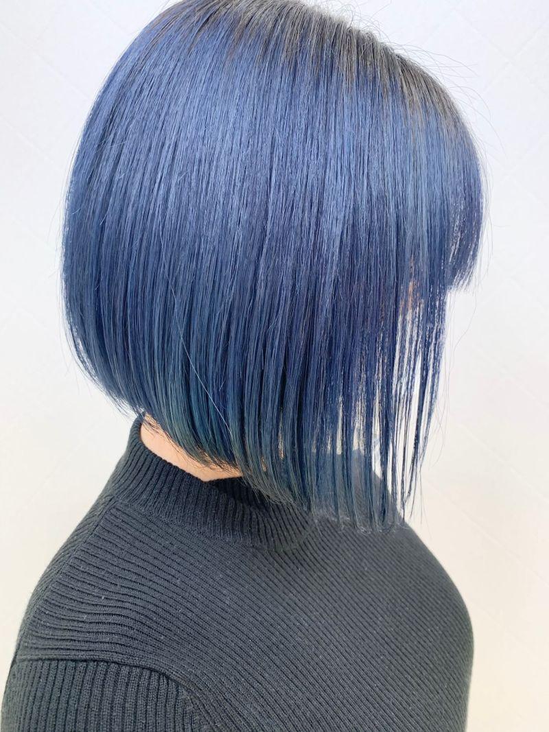ブルーでオシャレに☆
