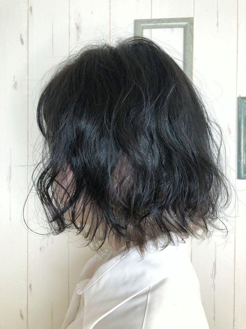 ふんわりゆる~いボブパーマ③