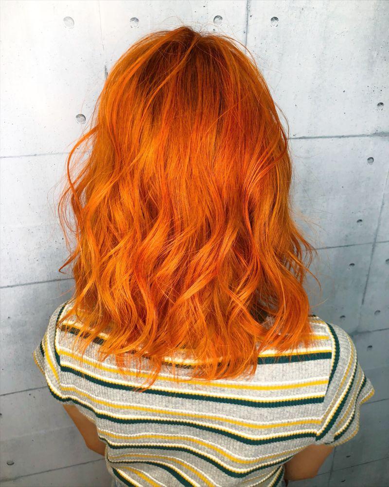 【蛍光オレンジ】バレンシアカラー