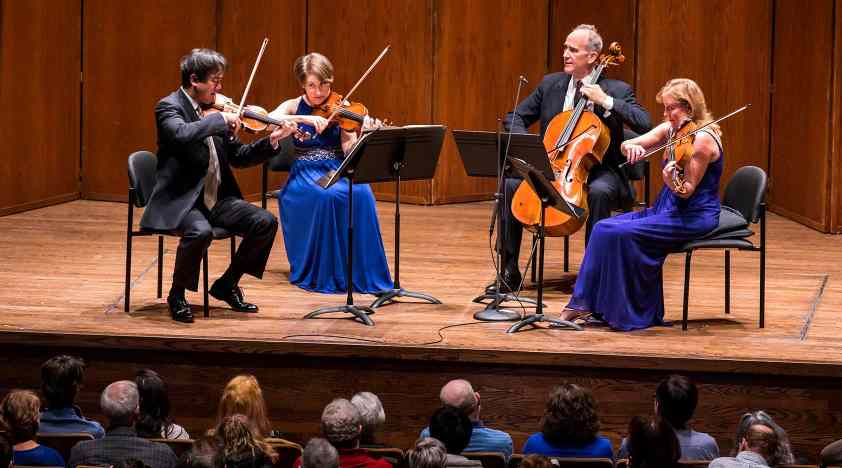 New York Philharmonic String Quartet at 92Y