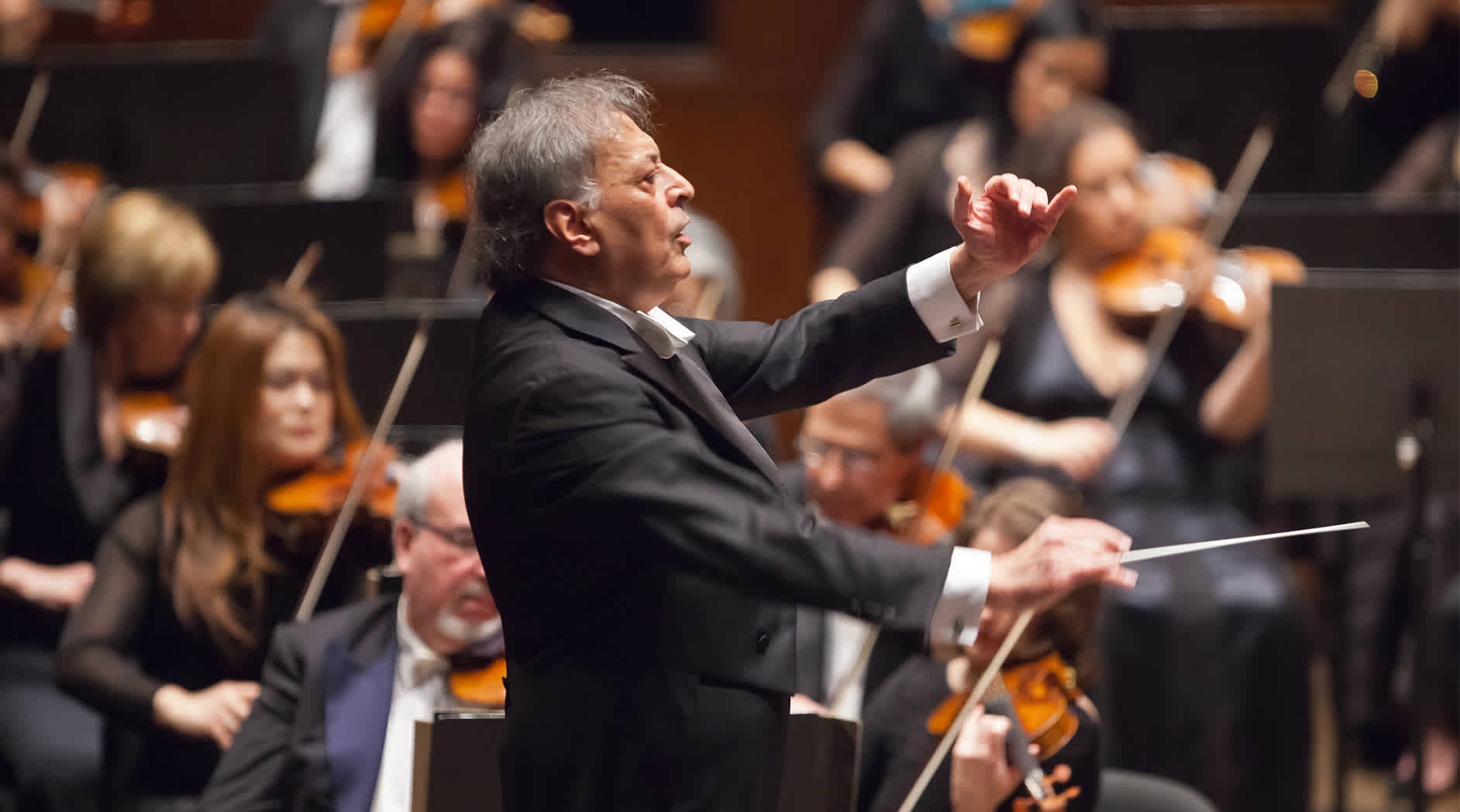 Zubin Mehta Conducts Bruckner's Eighth