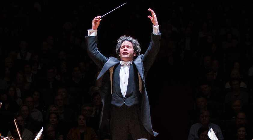 Dudamel Conducts Mahler and Schubert