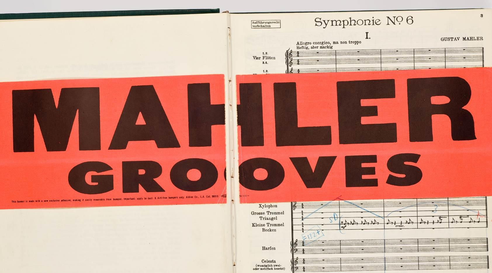 CANCELLED: <em>Mahler Grooves</em>