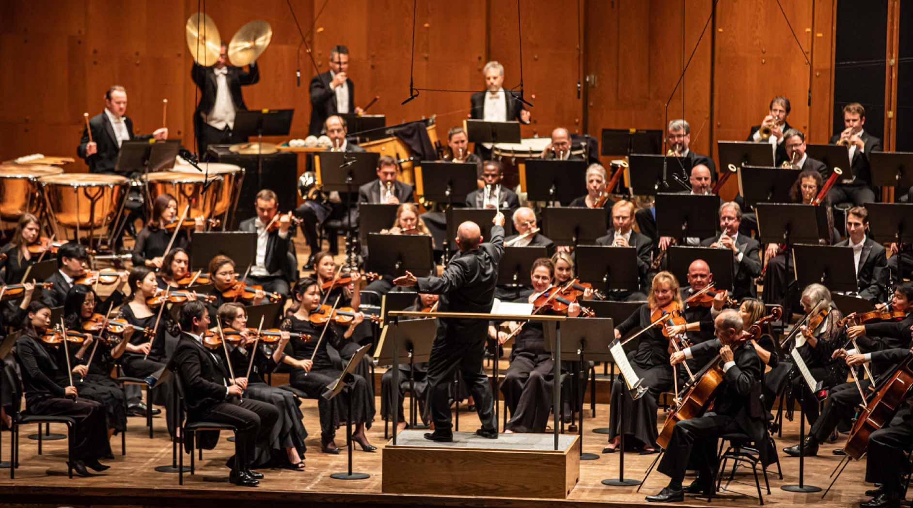 Music Director Jaap van Zweden conducts the New York Philharmonic