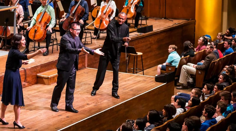 Young People's Concert: The Orchestra Will Not Be Televised