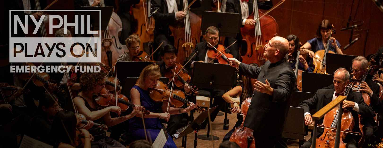 NY Phil Plays On Emergency Fund