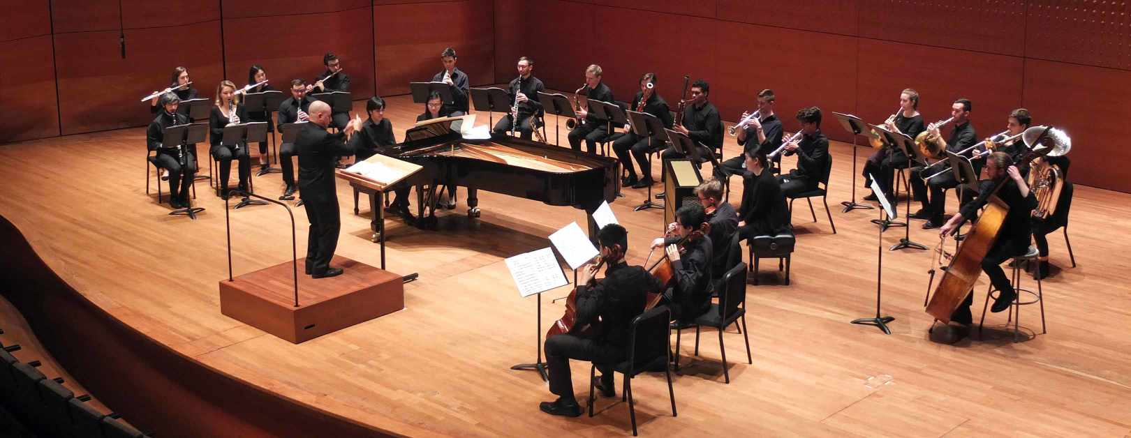 The Juilliard School's AXIOM Ensemble Performs Andriessen