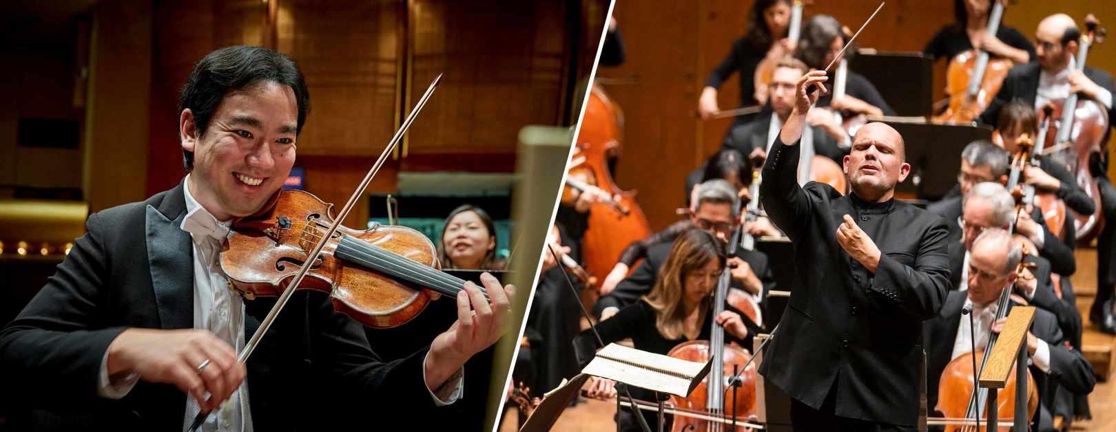 Sibelius Violin Concerto and Symphonie fantastique in Oklahoma