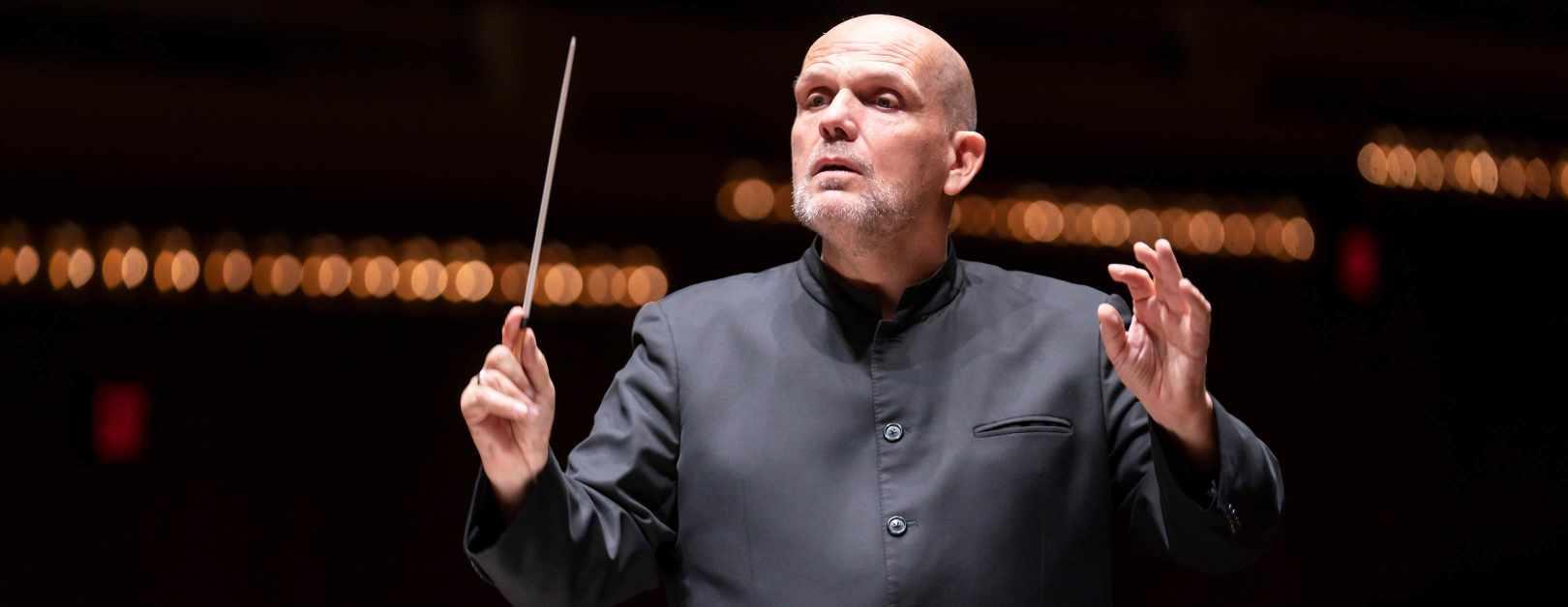 Jaap van Zweden Conducts Mozart and Caroline Shaw