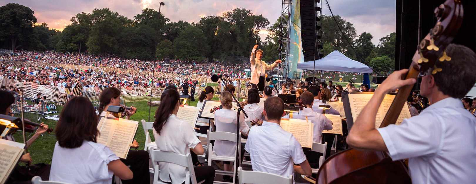 Orchestras in the parks 14