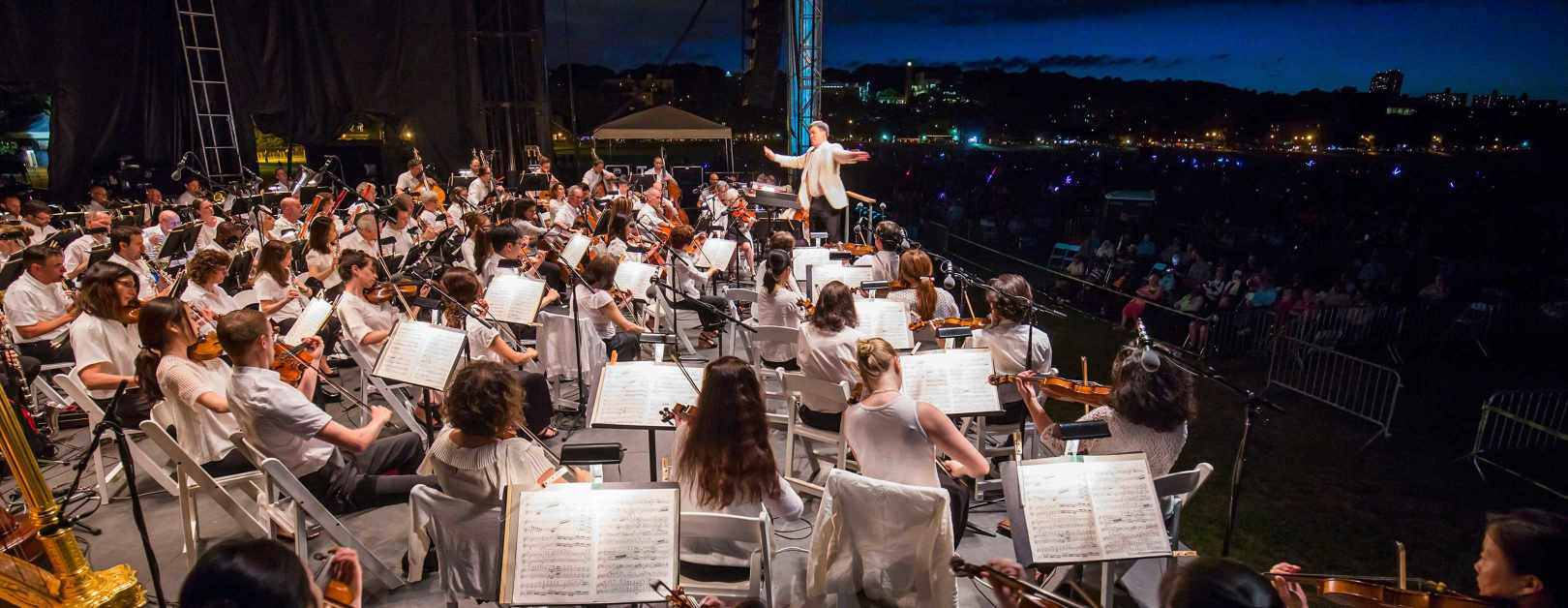 new york philharmonic concerts in the parks - van cortlandt park