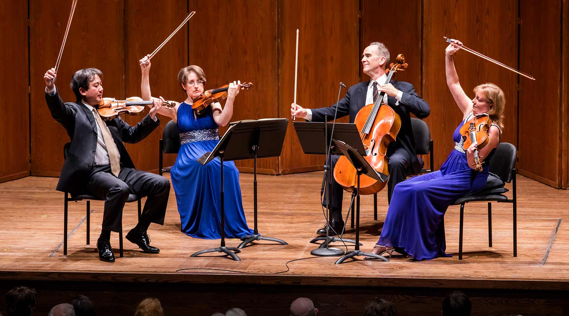 New York Philharmonic String Quartet Plays Schubert, Mendelssohn, and Ravel