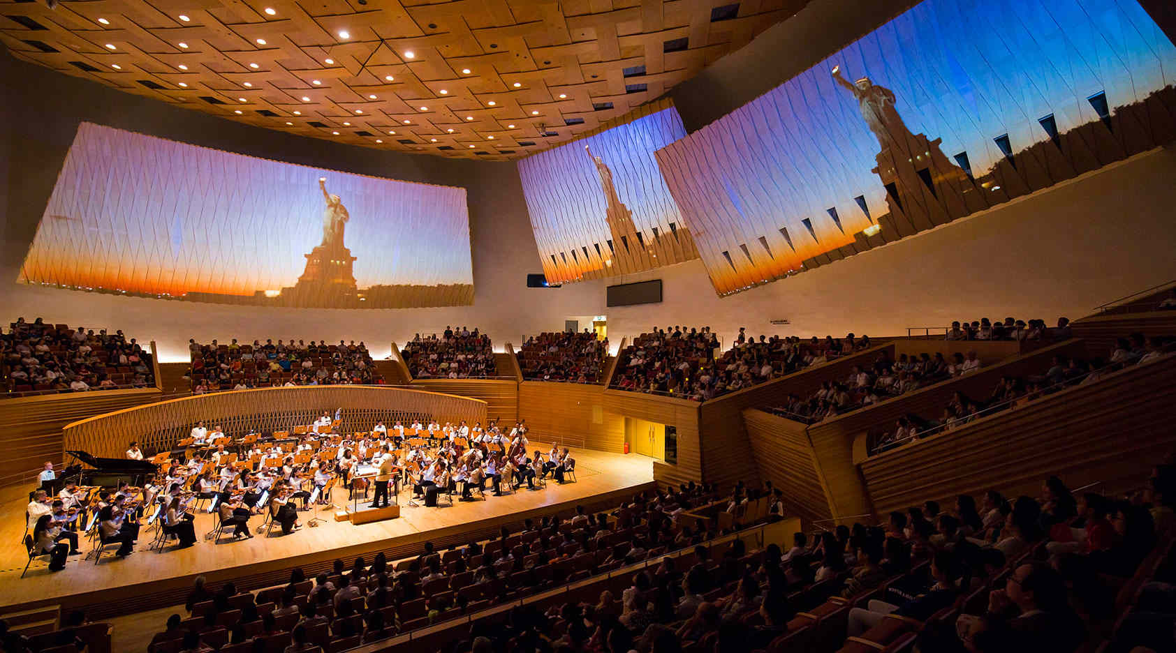 Young People's Concert in Shanghai