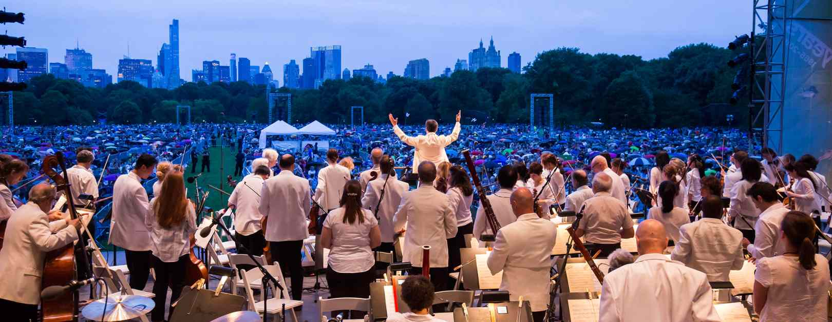 new york philharmonic concerts in the parks 2016 - central park june 16