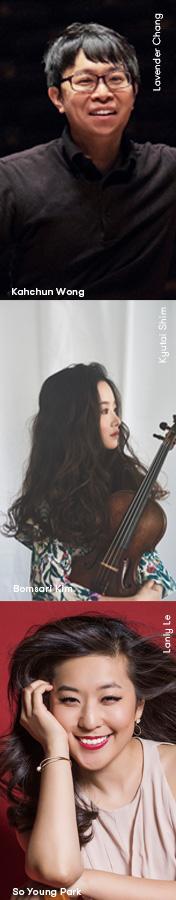 Yo-Yo Ma, Long Yu, Wu Tong, Gulinaer Yiming, Lei Jia